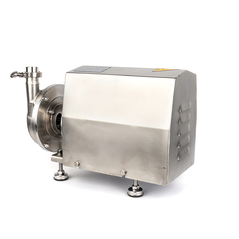 Food Grade Sanitary Stainless Steel Centrifugal Pump with Open Impeller pictures & photos