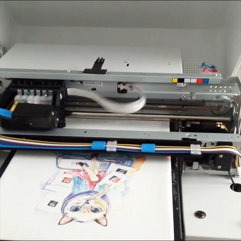 A3 Flatbed T Shirt Printing Machine Ar-T500 DTG Printer pictures & photos