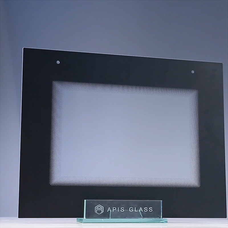 AG /Clear Silk Screen Printing/Painted/Printed Frame Tempered/Toughened Glass for Home Appliance pictures & photos