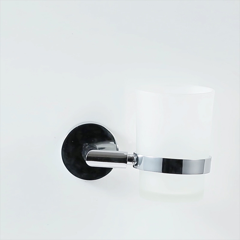 Wall-Mount Single Tumbler Holder in Chrome pictures & photos