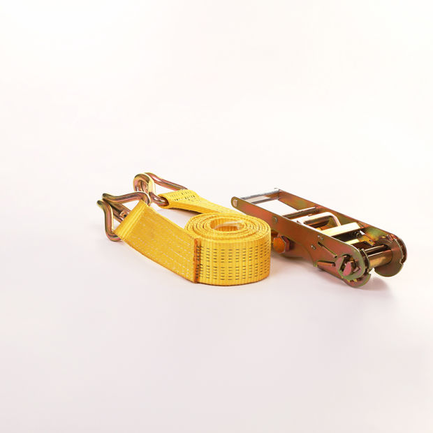 100% Polyester New Ratchet Buckle Straps, Cargo Secure Strap pictures & photos