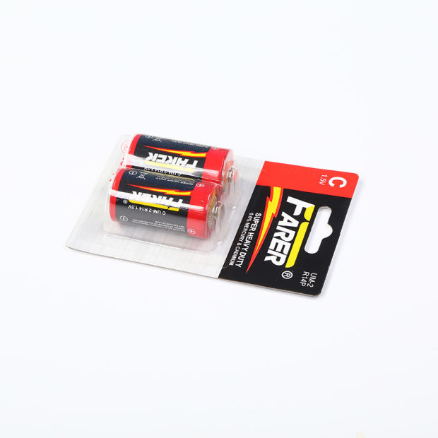 1.5V Farer Super Heavy Duty Dry Battery (R14 Um-2, C) pictures & photos