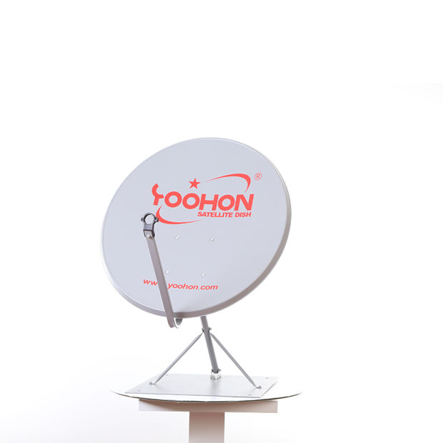 Outdoor TV Receiving Offset Satellite Antenna 90cm pictures & photos