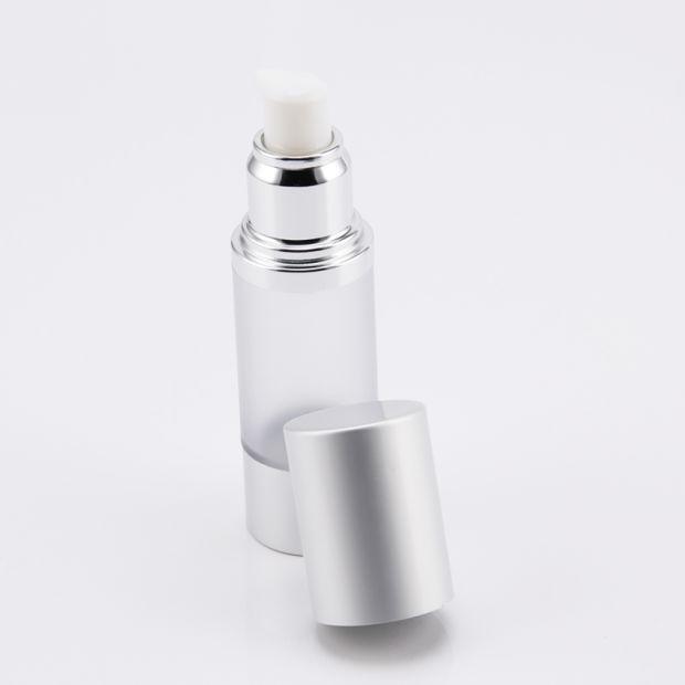 Luxury Cylinder Plastic Airless Serum Pump Bottle pictures & photos