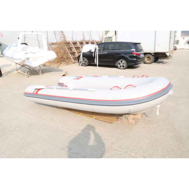 PVC/Hypalon Material Aluminum Rigid Inflatable Rib with Front Locker pictures & photos