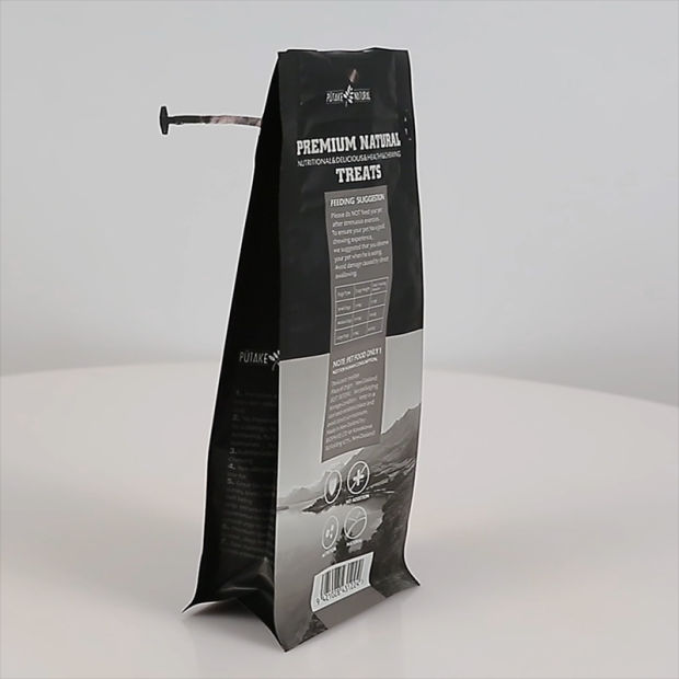Heavy Duty Dog Food Packaging Bag with Slip Zipper pictures & photos