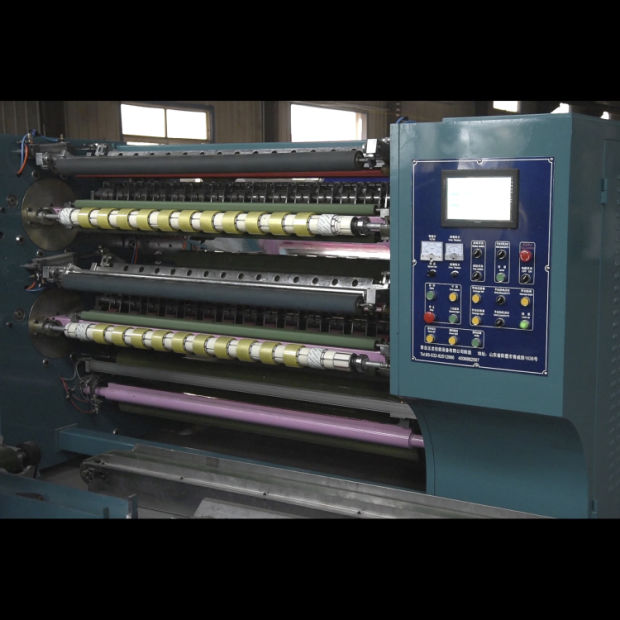 Super Clear Semi Automatic Tape Slitting Machine/Slitter and Rewinder pictures & photos