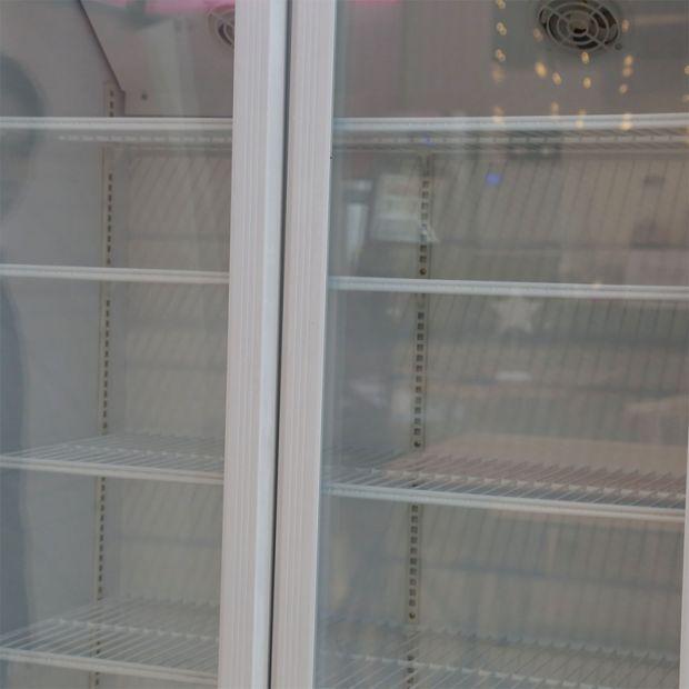 Double Glass Door Commercial Freezer Display/Refrigerator Freezer pictures & photos