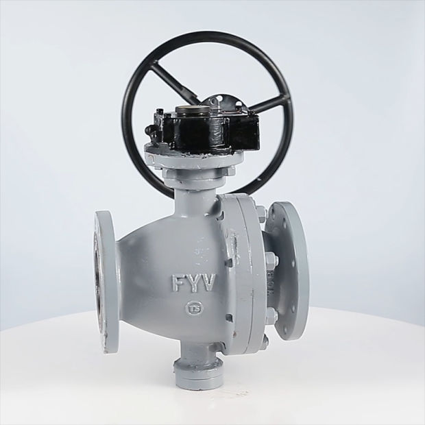 China API 6D Two Piece Ball Valve pictures & photos