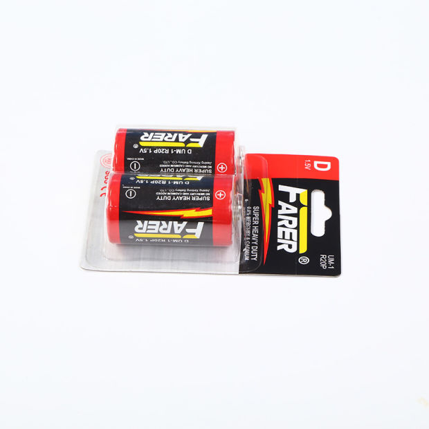 1.5V Farer Super Heavy Duty Dry Battery (R20 Um1, D) pictures & photos