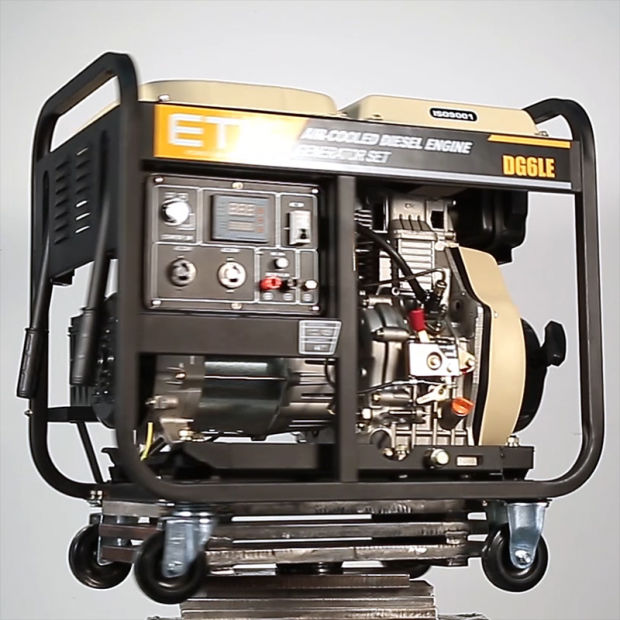 CE and ISO9001 Approved Diesel Generator (2/3/5KW) pictures & photos