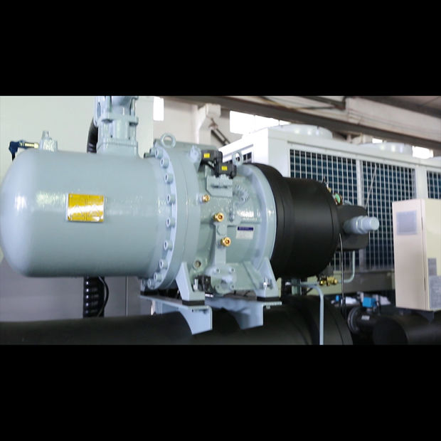 Twin Compressor Water Cooled Screw Chiller Cooling Machine pictures & photos