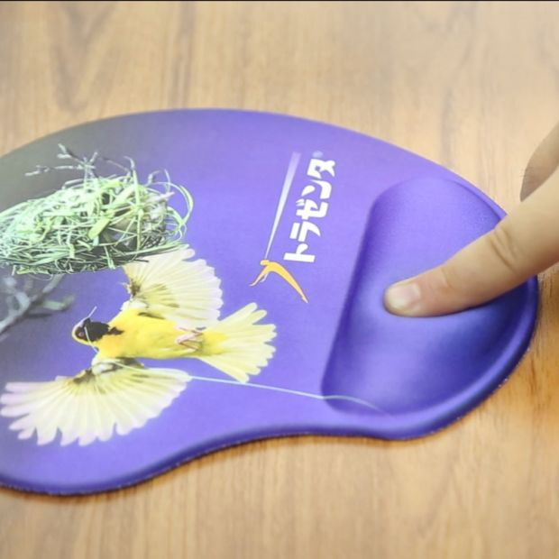 Eco-Friendly Gel Silicone Filled Promotion Wrist Rest Mouse Pads pictures & photos