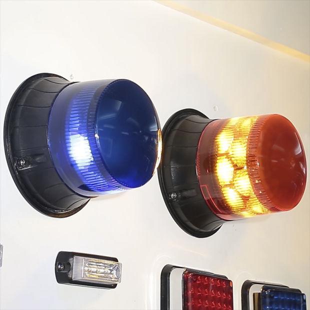 Senken R65 12V 24V Flash LED Light Rotating Strobe Warning Flashing Beacon pictures & photos