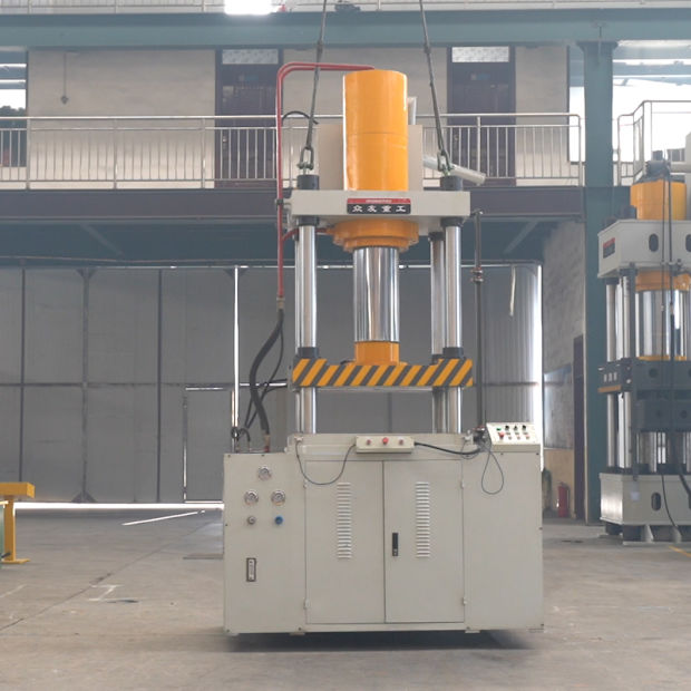Hydraulic Power Press Machine 4 Post for Stamping pictures & photos