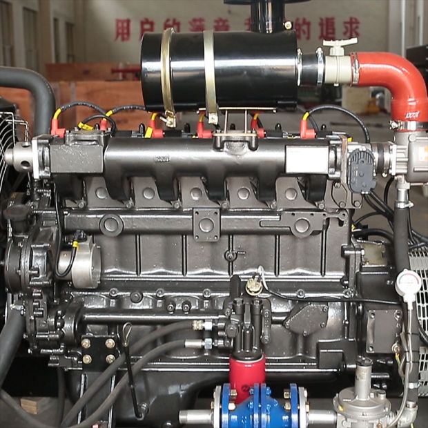 6 Cylinder Natural Gas Generator (50KW, 60KW, 75KW, 80KW, 100KW, 120KW) pictures & photos