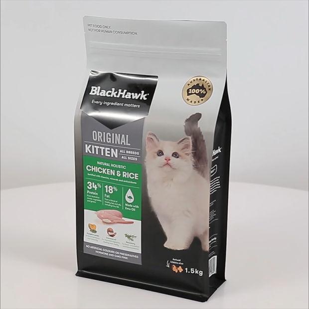 Zipper Cat Litter Packaging Bag pictures & photos