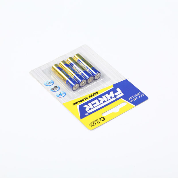 Blister Card Packing 1.5V Farer Super Alkaline Dry Battery (LR03 AAA, Am-4) pictures & photos