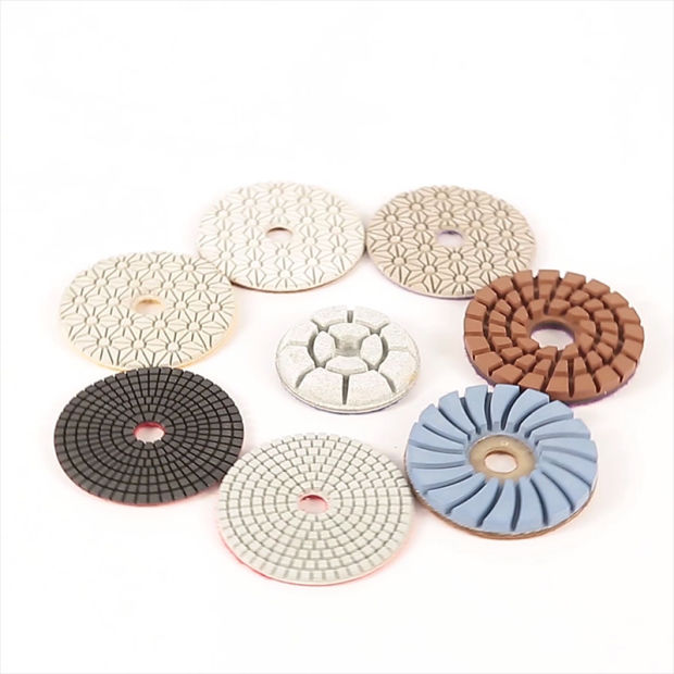 4 Inch Diamond Floor Polishing Pads for Granite pictures & photos