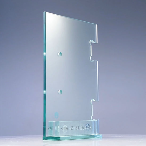 6mm/8mm/10mm/12mm Plian Shower Door Tempered /Toughened Glass with Grooves/Notche/Holes/Hinges pictures & photos