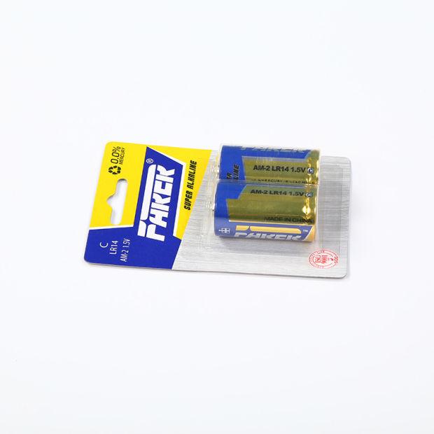 Mercury Free 1.5V Farer Super Alkaline Dry Battery (Lr14 Am2, C) pictures & photos