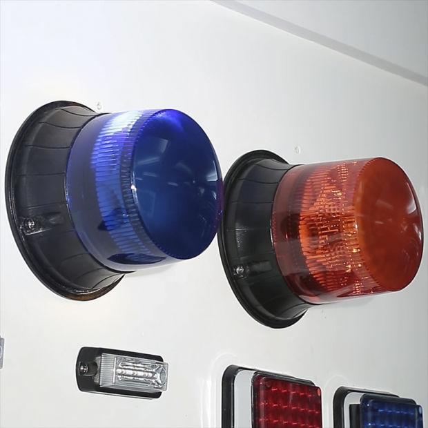 Senken ECE R65 Emcr10 Approved High Power Geniii 3W Flash Light LED Rotating Beacon pictures & photos