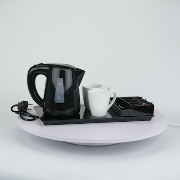 Hotel Hospitality Kettle Tray Electric Kettle Tray Set pictures & photos