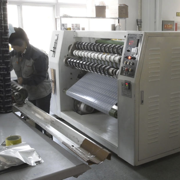 Single Sharft Tape Rewinding Machine pictures & photos