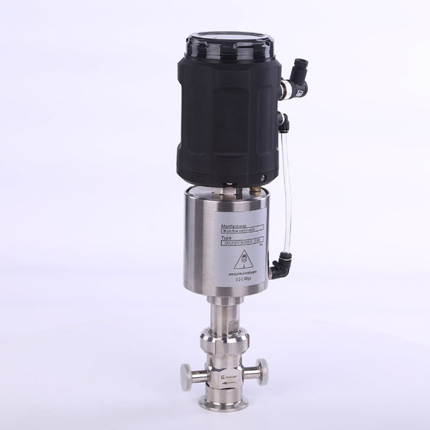 Sanitary Stainless Steel SS304 Micro Flow Control Valve pictures & photos
