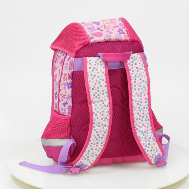 Girls Ergonomic Polyester Girl Custom Student Back to School Bag pictures & photos