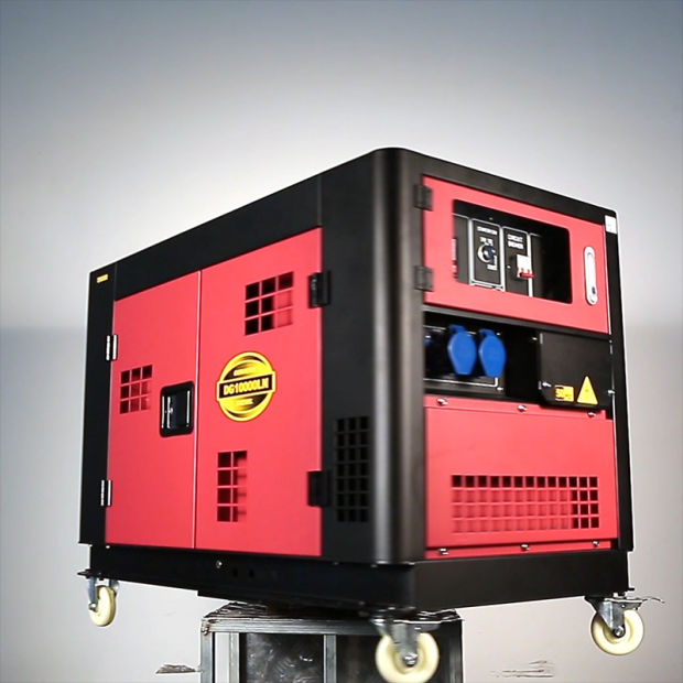 8kw Single Phase 2 Cylinder Water Cooled EV80 Silent Type Big Diesel Generator pictures & photos