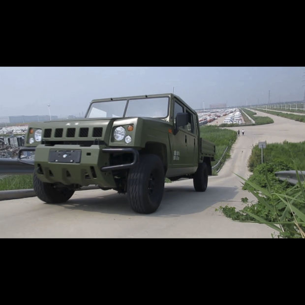 BAW Warrior-Loaded Chassis off Road Vehicle pictures & photos
