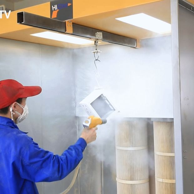 New Manual Electrostatic Powder Coating Spray Gun (colo-800DT-06C) pictures & photos