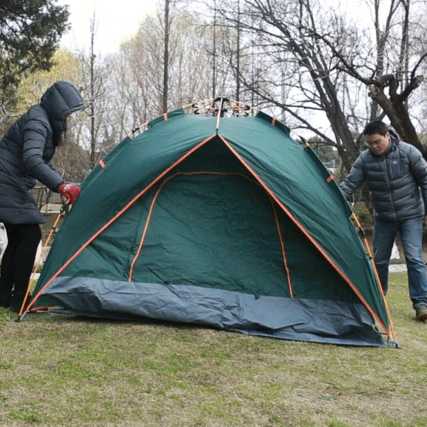 210d Oxford Multifunctional Waterproof Camping Tent for Outdoor Activities pictures & photos