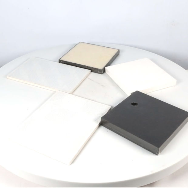 PVC Laminated Gypsum Ceiling Tiles/PVC Gypsum False Ceiling with Aluminum Foil pictures & photos