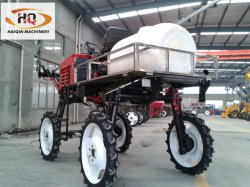 high clearace self propelled type boom sprayer (hqpz-700) with
