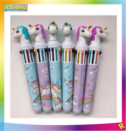Lovely Shape Multicolor Ballpoint Pen for School and Promotions pictures & photos