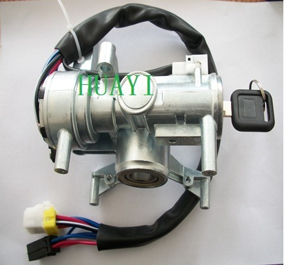 Isuzu 100p Tfr JAC Ignition Switch Assembly (8-971703640/8-970882770/8-971703640) pictures & photos