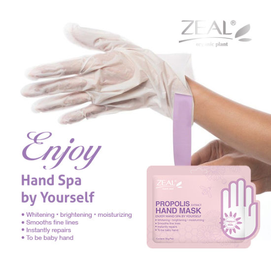 Zeal Cosmetic Body Care Brightening and Moisturizing Hand Mask pictures & photos