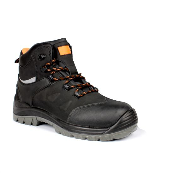 Nubuck S3 Standard Safety Footwear/Working Shoes- Sn5712 pictures & photos