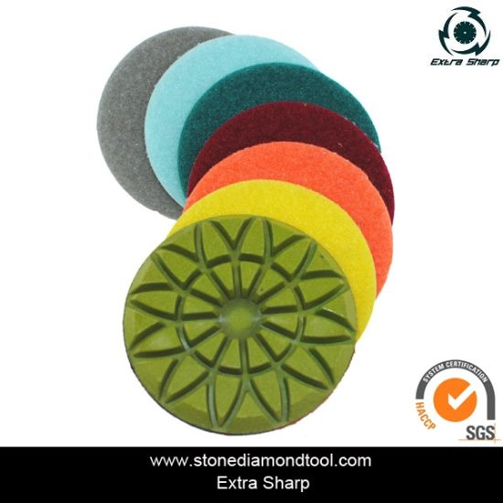 Diamond Floor Polishing Resin Pad for Granite and Concrete pictures & photos