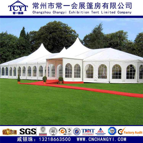 Customized Outdoor Canopy Wedding Party Tent Exhibition Event Pagoda