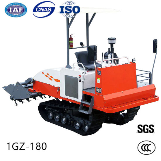 Diesel Engine Tractor Rotary Cultivator Self-Propelled Crawler Power Tiller pictures & photos