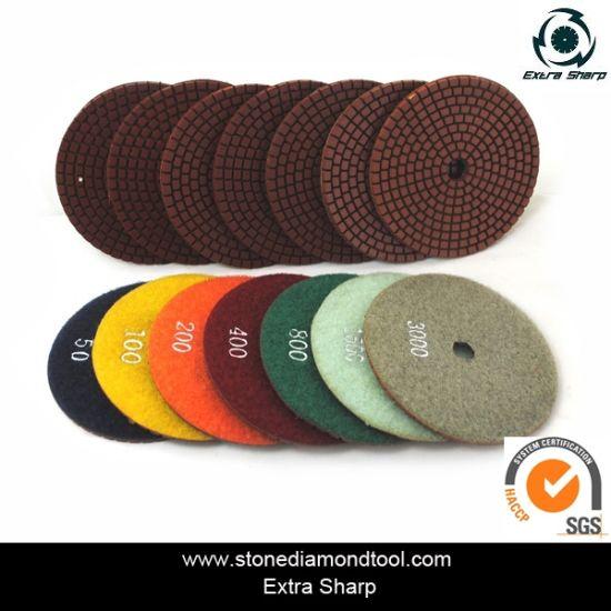 Diamond Wet Stone Flooring Polishing Abrasive Tool pictures & photos