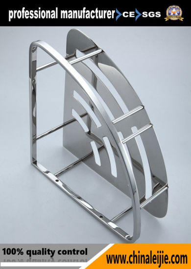 Luxury High Quality Stainless Steel Mirror and Brush Shelves pictures & photos