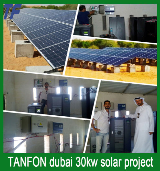 Tanfon Solar Power System with Optimum Usage to Extend Battery Life pictures & photos