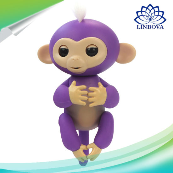 Kids Funny Electric Pet Fingerlings Baby Monkey Smart Finger Toy pictures & photos