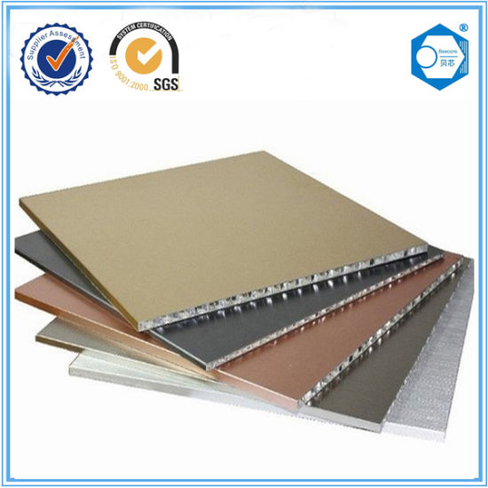 China Aluminum Honeycomb Core Exterior, Ceiling Panels - China ...