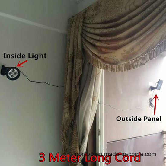Classic Solar Motion Sensor Wall Light (RS2025) pictures & photos