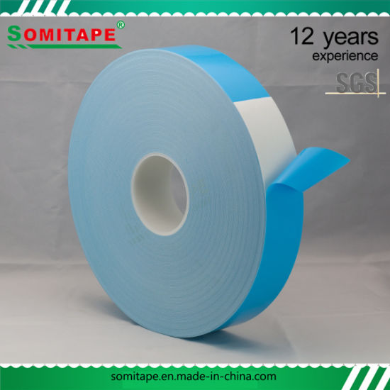 Foam Double Sided Tape/PE Foam Double Sided Adhesive Tape for Construction Fixing pictures & photos